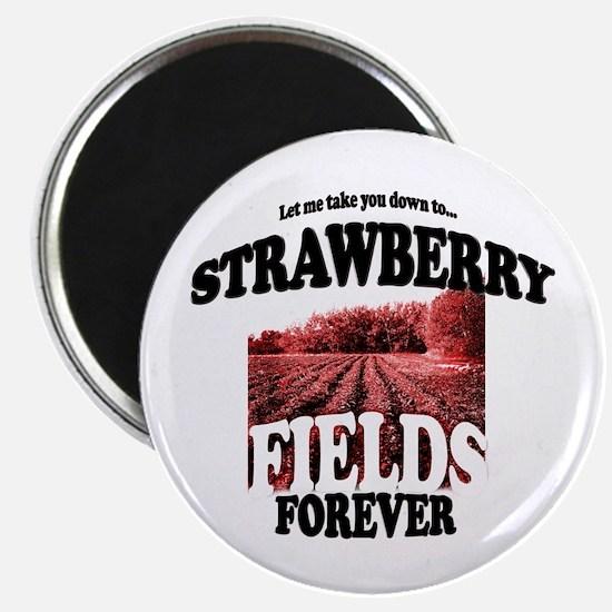 Strawberry Fields Beatle Magnet
