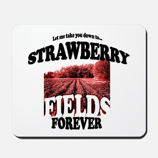 Strawberry Fields Beatle Mousepad