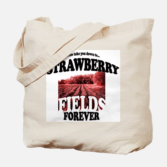 Strawberry Fields Beatle Tote Bag