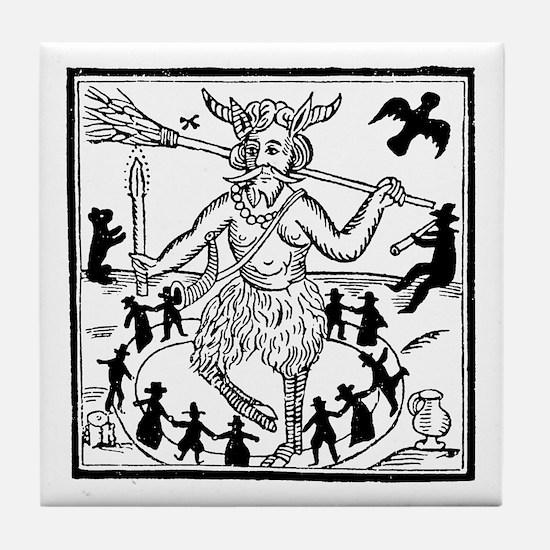 Robin Goodfellow Tile Coaster