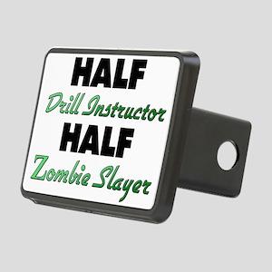 Half Drill Instructor Half Zombie Slayer Hitch Cov