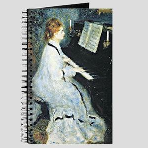 Renoir - Young Woman at the Piano Journal