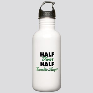 Half Diver Half Zombie Slayer Water Bottle