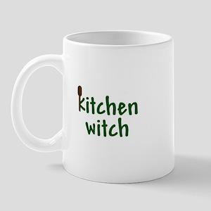 Wooden Spoon Kitchen Witch Mug