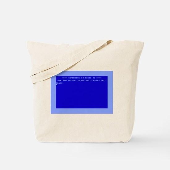 Commodore 64 Ready Tote Bag