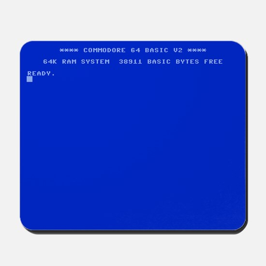 Commodore 64 Ready Mousepad