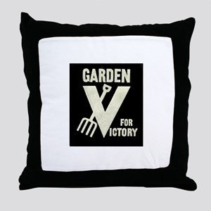 Victory Garden Throw Pillow