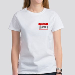 Hello, my name is Abbey Women's T-Shirt