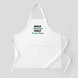 Half Counselor Half Zombie Slayer Apron