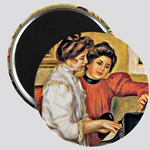 Renoir - Young Girls at the Piano Magnet