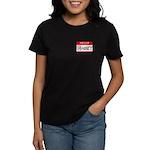 Hello, my name is Abbey Women's Dark T-Shirt