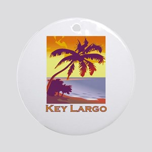 Key Largo, Florida Ornament (Round)
