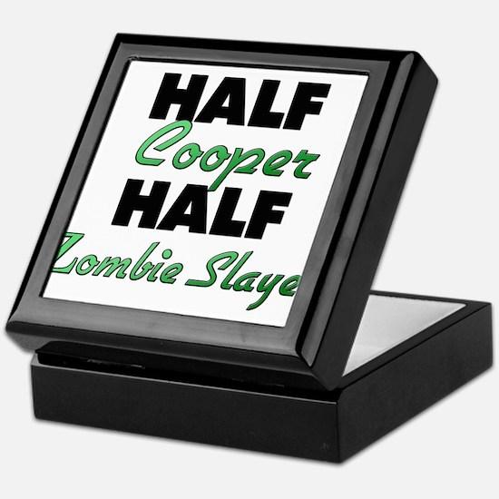 Half Cooper Half Zombie Slayer Keepsake Box
