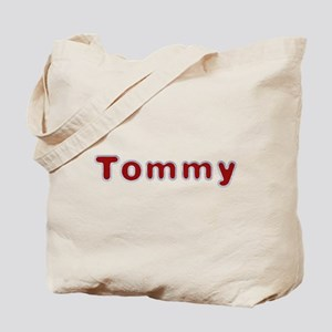 Tommy Santa Fur Tote Bag