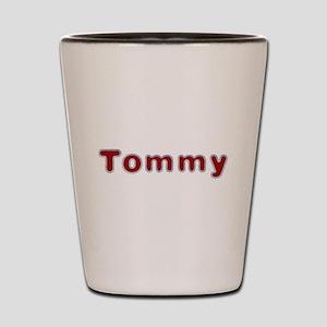 Tommy Santa Fur Shot Glass