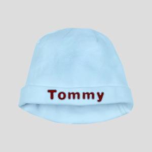 Tommy Santa Fur baby hat