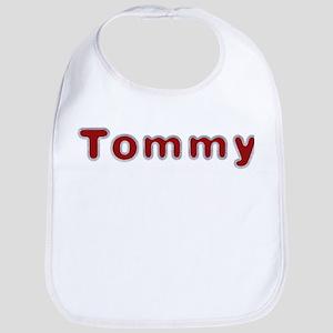 Tommy Santa Fur Bib