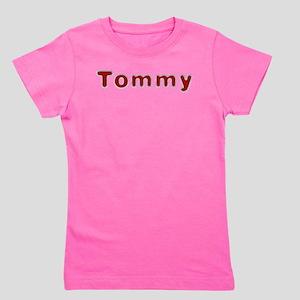 Tommy Santa Fur Girl's Tee