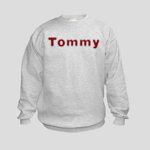 Tommy Santa Fur Sweatshirt