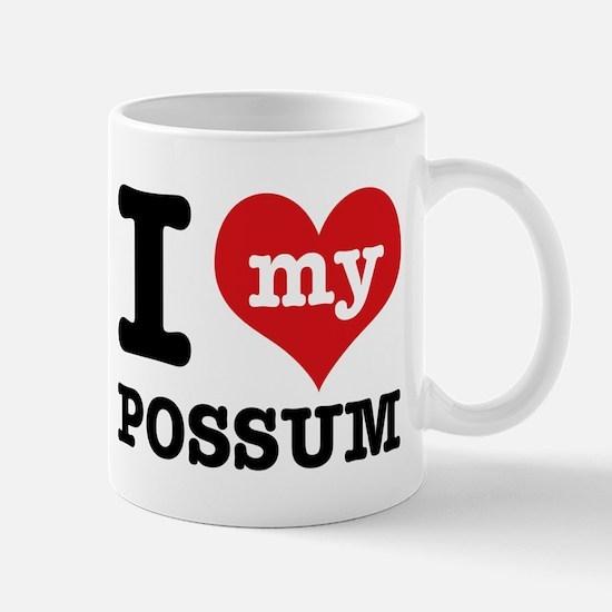 I love my possum Mug
