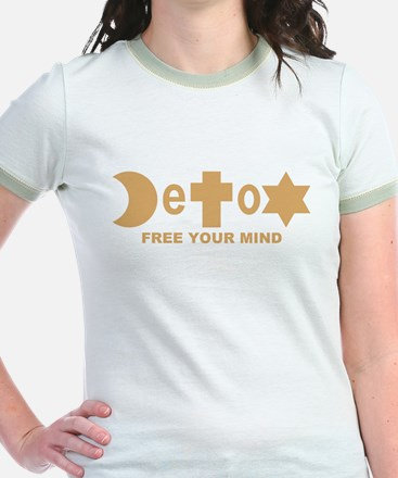 Religion DeToX Shirt (Gold Ringer)