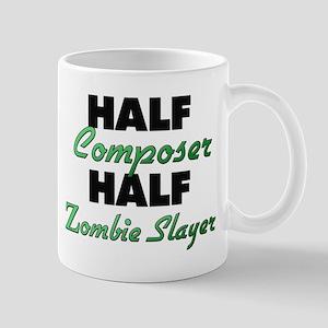 Half Composer Half Zombie Slayer Mugs