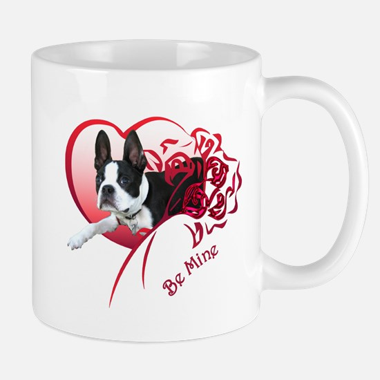 Valentine Boston Terrier Mug