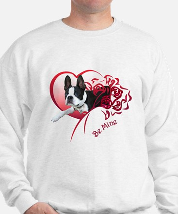 Valentine Boston Terrier Sweater