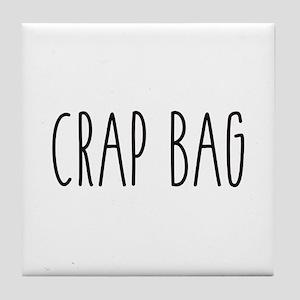 Friends - Crap Bag Tile Coaster