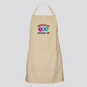 Officially 101 forever 18 Apron