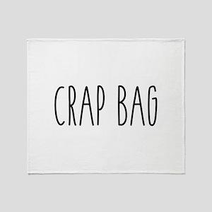 Friends - Crap Bag Throw Blanket