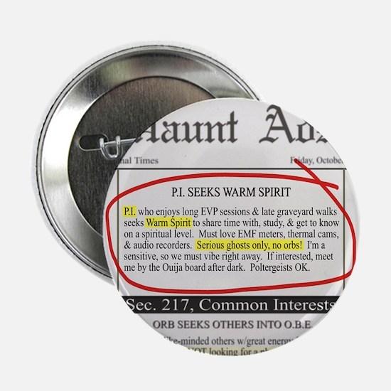 "Haunt ads 2.25"" Button (10 pack)"