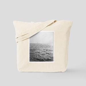 """Liberty & the Sea"" Tote Bag"