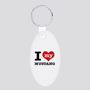I love my MUSTANG Aluminum Oval Keychain