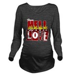 hell poster Long Sleeve Maternity T-Shirt