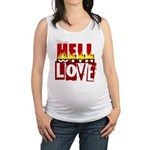 hell poster Maternity Tank Top