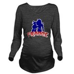 french poodles Long Sleeve Maternity T-Shirt