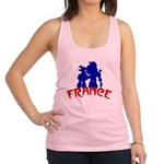 french poodles Racerback Tank Top