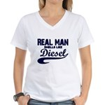 real copy Women's V-Neck T-Shirt