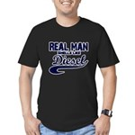 real copy Men's Fitted T-Shirt (dark)