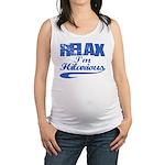 hilarious Maternity Tank Top