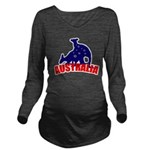 Australia Long Sleeve Maternity T-Shirt