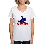 Australia Women's V-Neck T-Shirt