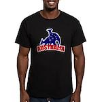 Australia Men's Fitted T-Shirt (dark)