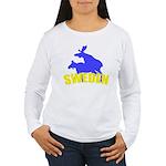 Sweden Women's Long Sleeve T-Shirt