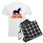 half man Men's Light Pajamas