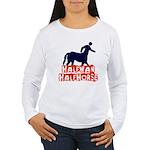 half man Women's Long Sleeve T-Shirt