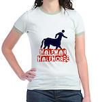 half man Jr. Ringer T-Shirt