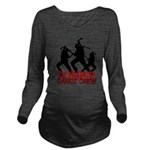 zombie3 Long Sleeve Maternity T-Shirt