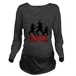 zombie3 Long Sleeve Maternity T-Shirt